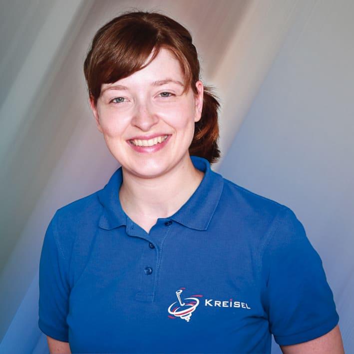 Eine Portraitaufnahme von Frau Anja Kalow