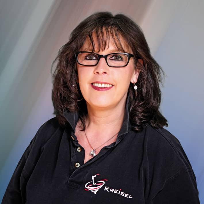 Eine Portraitaufnahme von Frau Angela Koch