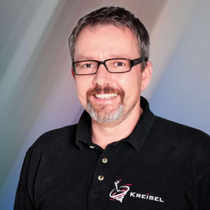 Eine Portraitaufnahme von Herr Ralph Kreisel